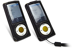 PDAIR レザーケース for iPod nano(5th gen.) スリーブタイプ