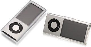 シリコーンジャケットセット/クリスタルジャケットセット for iPod nano 5th