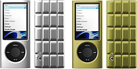 SwitchEasy Cubes For iPod Nano 5G