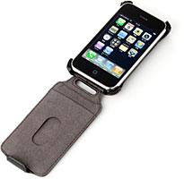 フリップスタイルレザーホルダー for iPhone 3GS/3G