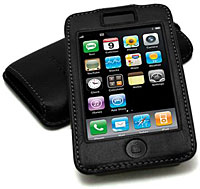 avenue-d Italian Leather Sleeve for iPod touch 2nd gen