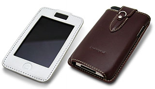 Italian Leather Sleeve for iPod touch 2nd gen