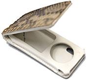 iPod nano(第5世代)パイソン革ケース
