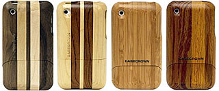 CaseCrown Timber Glider iPhone 3G/3GS シリーズ