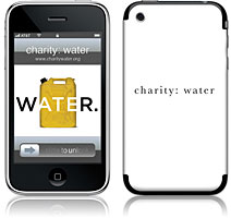 charity: water GelaSkins