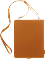 Leather Collection Shoulder Leather Case for iPad