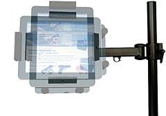 iPad VESA75規格液晶モニターアーム取付けアダプター