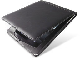 PDAIR レザーケース for iPad 縦開きタイプ(ボタンタイプ)