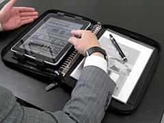 iPad ファスナーバインダー for Business(越後屋工房・FMS2010015)
