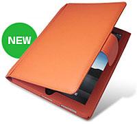 Piel Frama レザーケース(ボタンタイプ) for iPad オレンジ