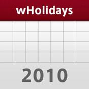 世界の休日カレンダー2010