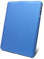 APPLE iPad用本革ケース(Jacka type/カーボンファイバー柄)