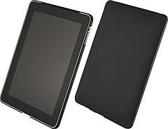 Airジャケットセット for iPad ラバーコーティングブラック