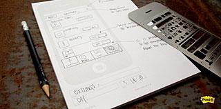 UI STENCILS Stencil Kit/Sketch Pad