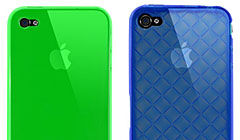 iFeather Hikari/Woven Clear designed for iPhone 4