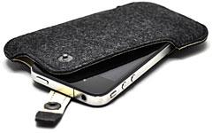 ハンドメイドフェルトケース for iPhone 4
