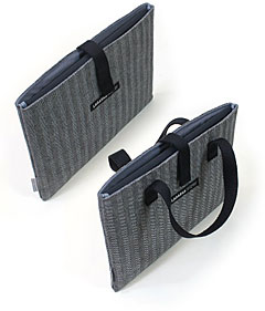 ヘリンボーン・デニム iPadケース