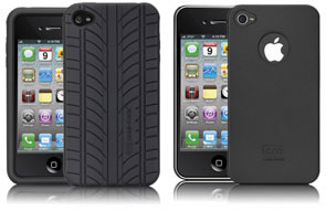 Case-Mate ブルームシリコンケース for iPhone 4/Case-Mate ベアリーゼア薄型ハードケース for iPhone 4