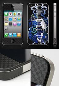 iPhone 4用UV保護スキンシール