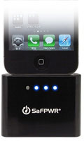 SaFPWR Smart Battery Pack for iPhone/iPod