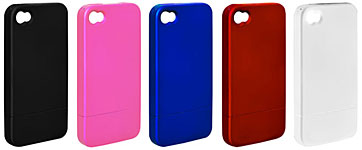 RUBBER COATING CASE FOR iPhone 4(BI-IP4RCASE)