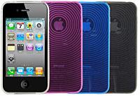 TPU ソフトケース for iPhone 4(サークル)