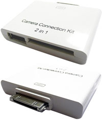 デイトリッパー 2 in 1 iPad Camera Connection Kit