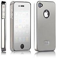 case-mate ベアリーゼア薄型ハードケース for iPhone 4(クローム)