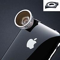 広角0.5倍 iPhone 3G/3GS専用ワイドコンバージョンレンズ