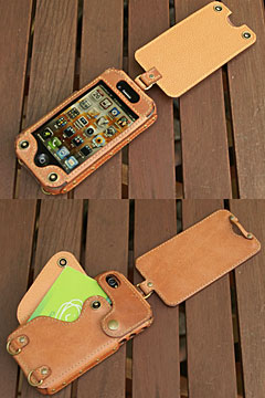 iPhone 4 flipcover strap type