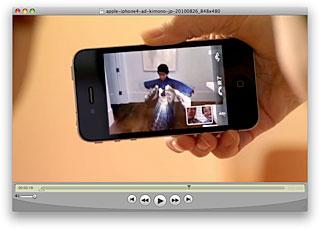 iPhone 4のTV CM