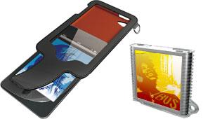 エレコムの第4世代iPod touch用、第6世代iPod nano用ケース