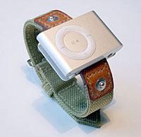 REMAKE WRIST BAND for iPod shuffle G2