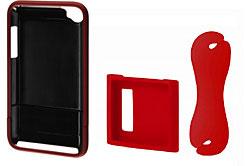 サンワサプライ第4世代iPod touch用、第6世代iPod nano用アクセサリ
