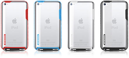 TUNESHELL RubberFrame for iPod touch 4G