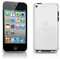 直営店限定!iPod touch 4G用 クリアケース (液晶保護フィルム付き)