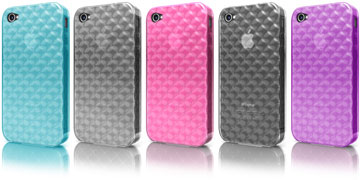 Gem Series Diamond Case for iPhone 4