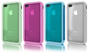 Quartz Series Frame Case for iPhone 4