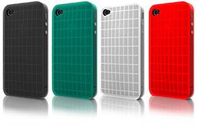 Smooth Rib series Rib silicon for iPhone 4