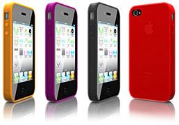 Smooth Silicon Series Silicon Case for iPhone 4