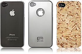 case-mateのiPhone 4用ケース3種