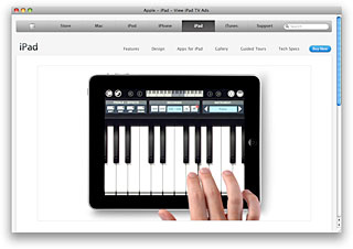 iPad is Musical