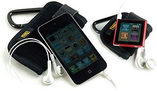 iPod touch 4G用/iPod nano 6G用低反発キャリングケース/ふわふわオムレット