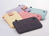 Simplism Microfiber Sleeve Set for iPod touch (4th)