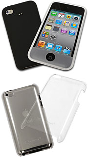 Silicone Case/Crystal Case for iPod touch 4G