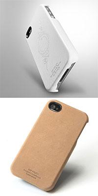 SGPレザーケース ジェニュイン・レザーグリップ for iPhone4