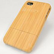 iPhone4専用 竹製ハードケース