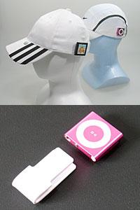 Running Cap Holder for iPod nano 6G / Shuffle 4G