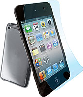 AFPクリスタルフィルムセット for iPod touch 4th