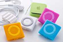 Simplism Silicone Case Set for iPod shuffle (4th)